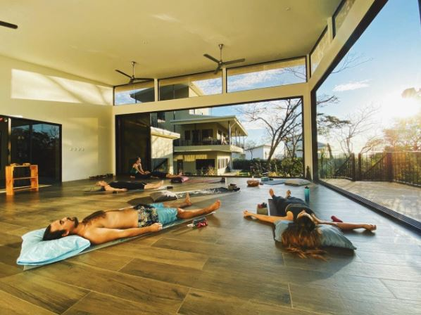 Yoga in Costa Rica at The Lanktuary